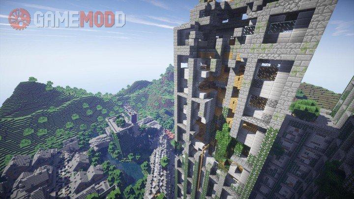 Post Apocalyptic City [1 8 9] [1 8] [1 7 10] » Minecraft - Maps