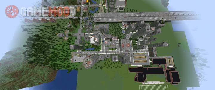 minecraft zombie survival map 1.10.2