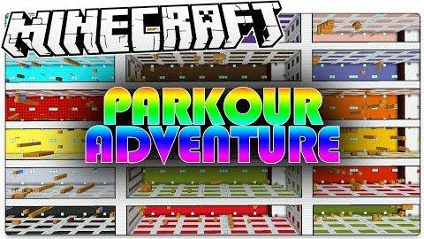 Parkour Adventure [1.8.9] [1.8]