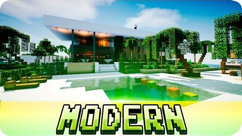 Beautiful Modern House [1.8.9] [1.8] [1.7.10]