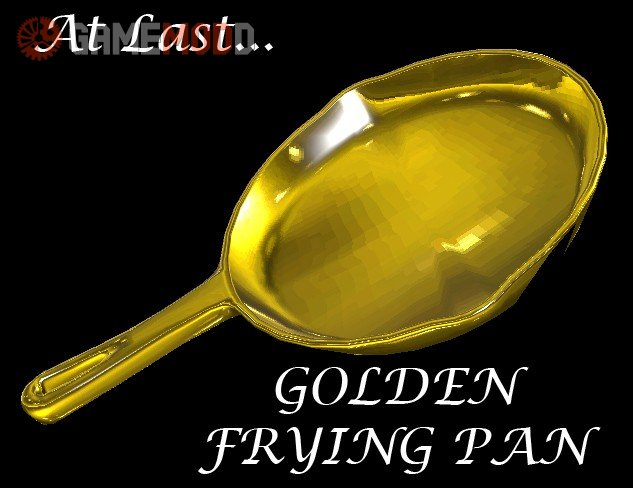 Golden Frying Pan