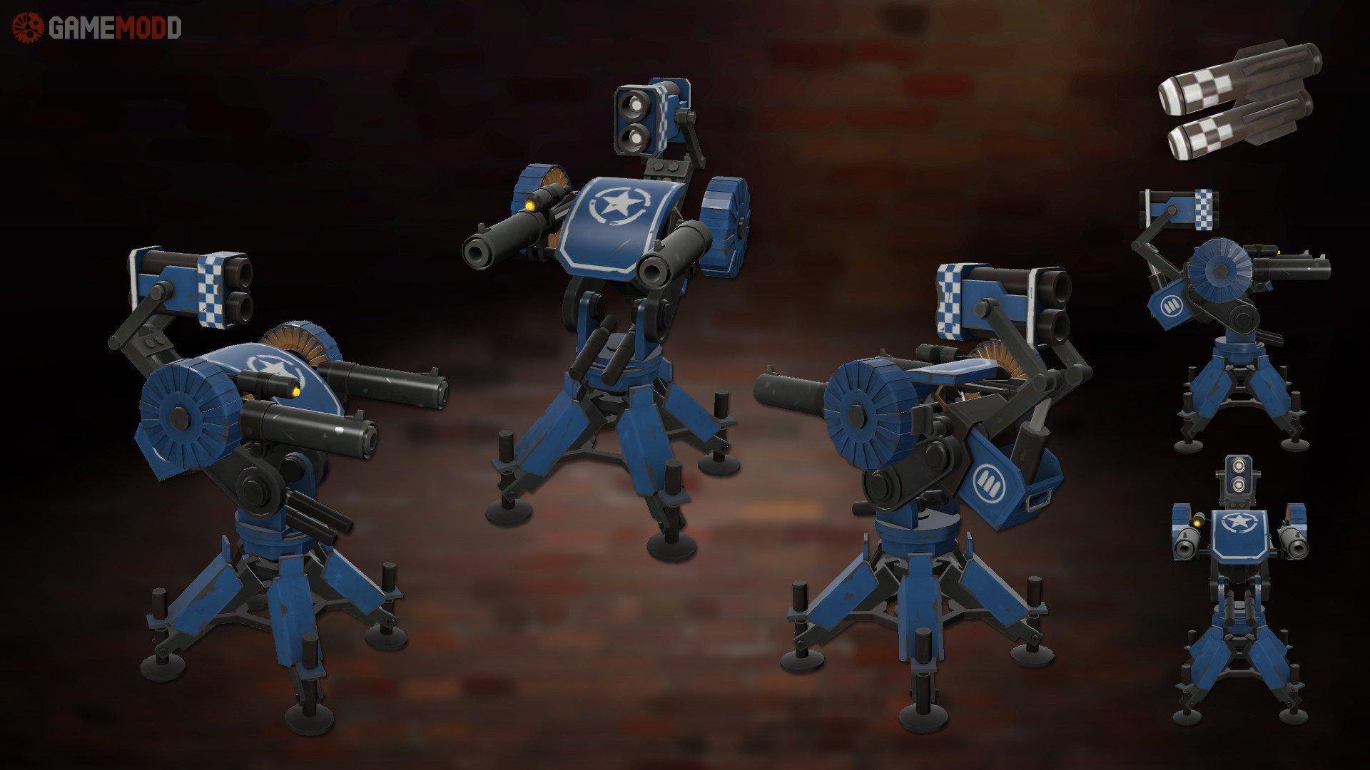 Artillery Sentry » TF2 - Skins Engineer | GAMEMODD