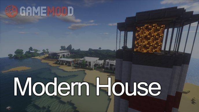 Minecraft Modern House [1.8] [1.7.10] [1.7.2] [1.6.4]