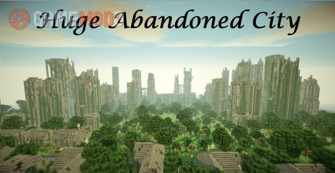 Huge Abandoned City [1.8.1] [1.8]