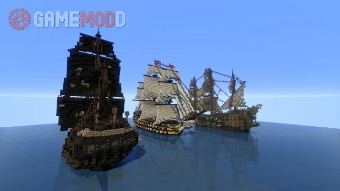 Pirate of the Caribbeans battle [1.8] [1.7.10]