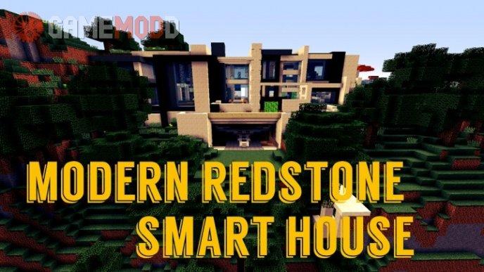 Modern Redstone Smart House [1.8.9] [1.8] [1.7.10]