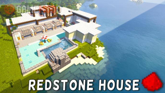 Redstone Modern House [1.9.4] [1.8.9]