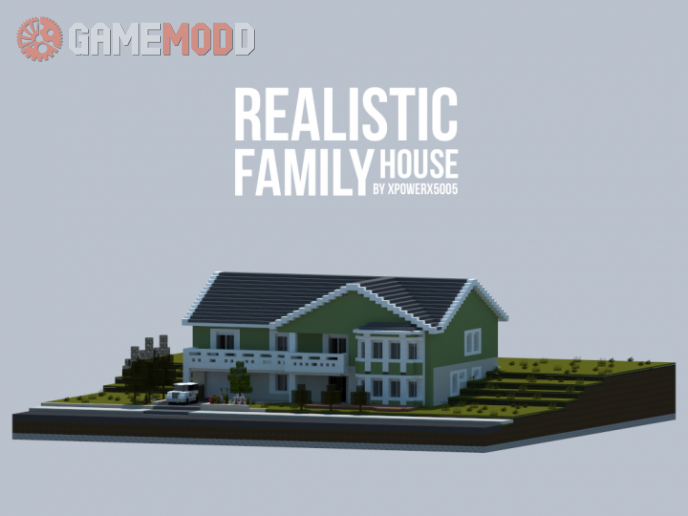 Realistic Family House [1.10.2] [1.10] [1.9.4]