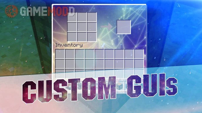 Custom GUIs [1.8.9] [1.8] [1.7.10] [x16]