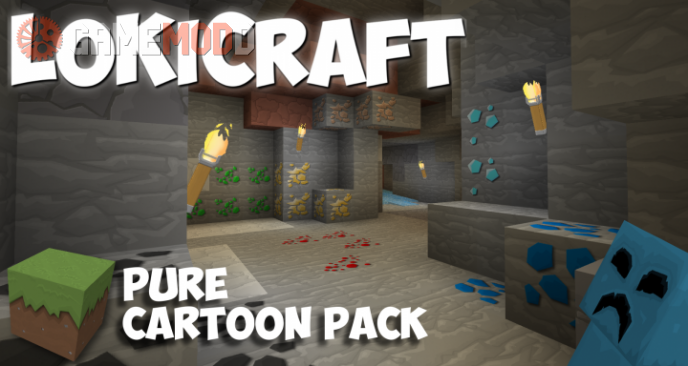 LoKiCraft PureCartoon [1.10.2] [1.9.4] [1.8.9]