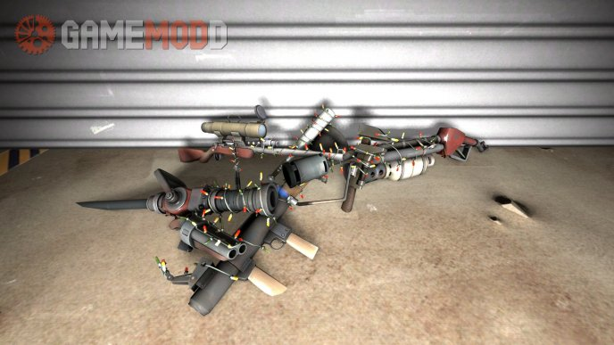 2011 Festive Weapons