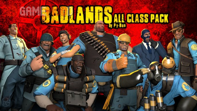 Badlands All Class Pack