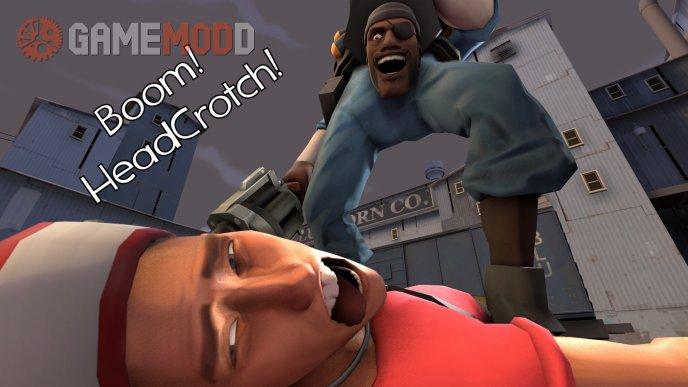 Boom! HeadCrotch!