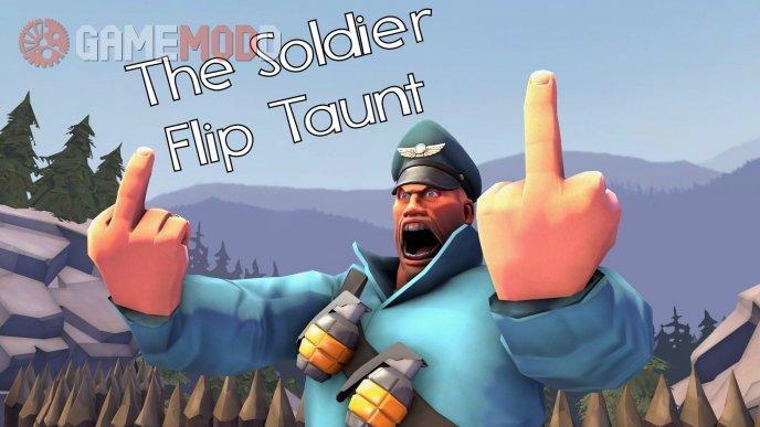 Soldier Flip Taunt