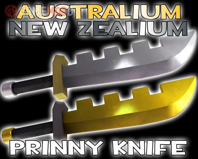 Australium/New Zealium Prinny Machete