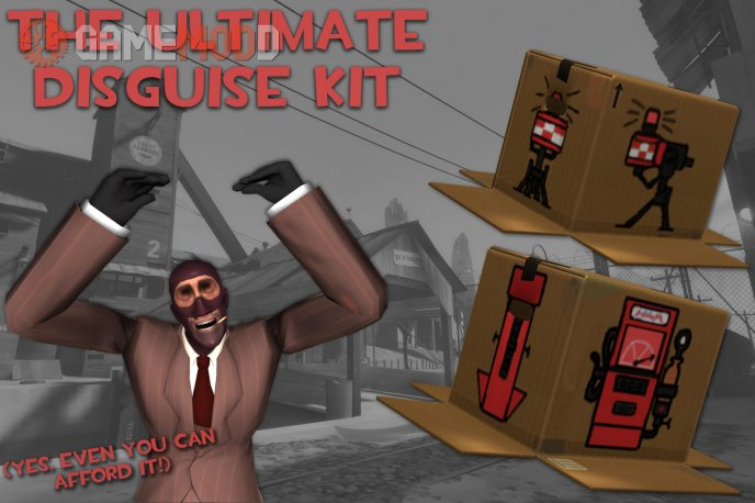 The Ultimate Disguise Kit