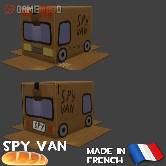 Spy van Boxtrot skin