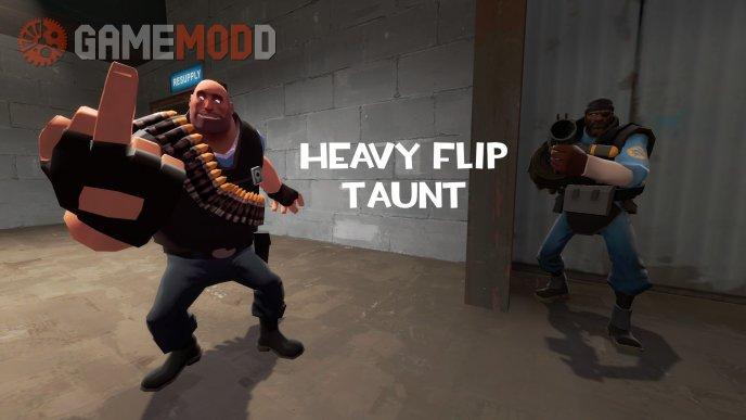 Heavy Flip Taunt
