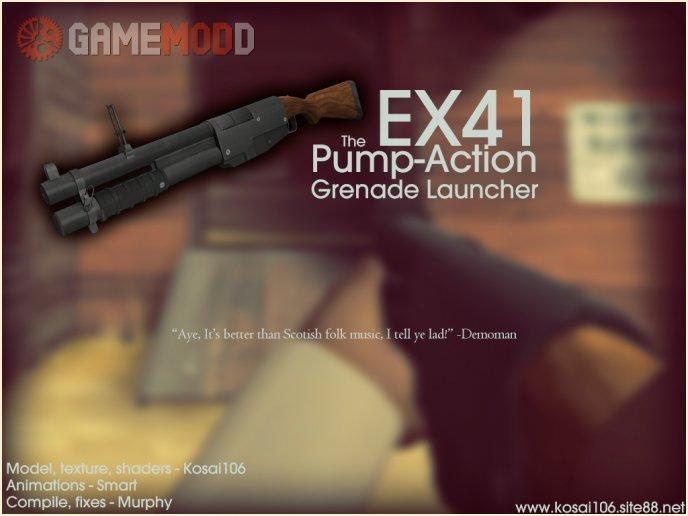 EX41 Grenade Launcher