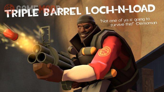 Triple Barrel Loch-n-Load