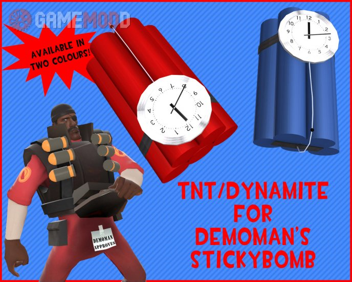 TNT/Dynamite for Stickybomb