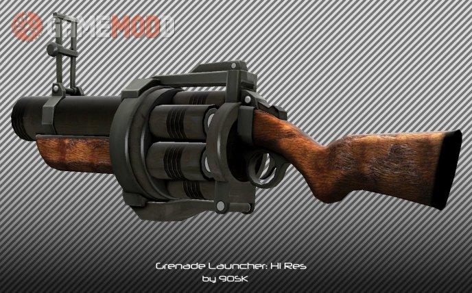 Grenade Launcher: Hi Res