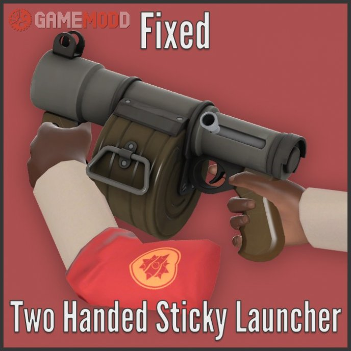 Fixed Two Handed Sticky Launcher