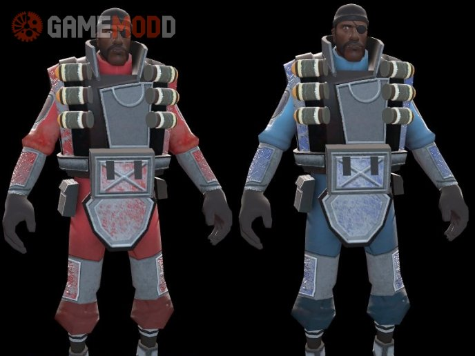 Nems Battle Hardened DemoMan