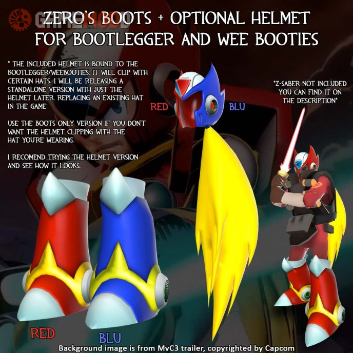 Zero's Jet Boots