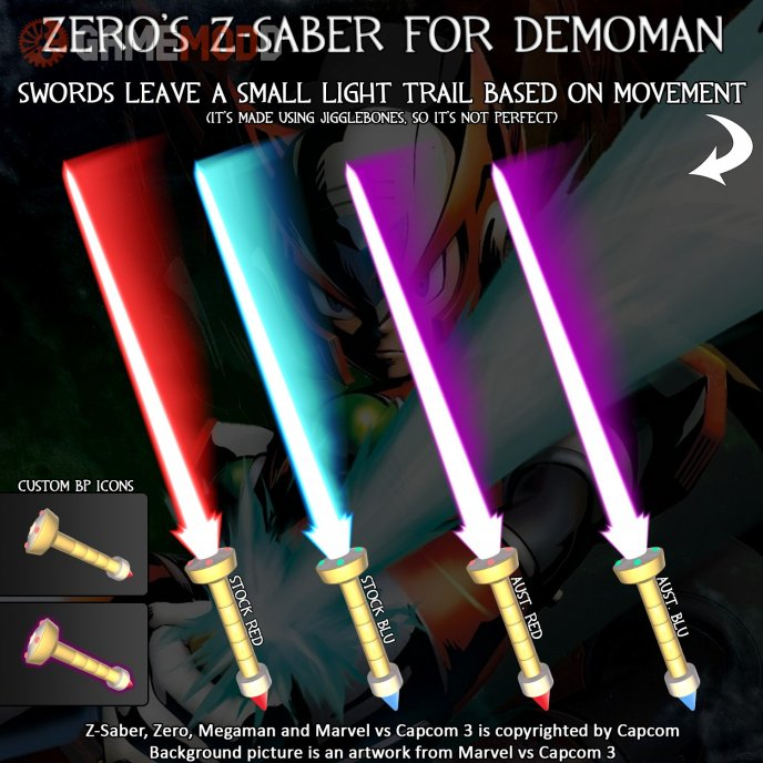 Zero's Z-Saber