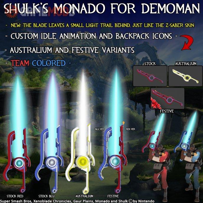 Shulk's Monado for all Headtakers