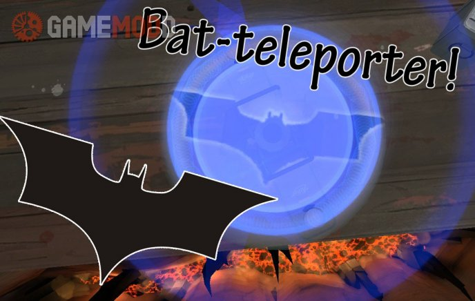 Batman Signal Teleporter