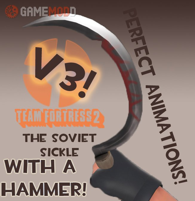 The Soviet-Sickle V3!