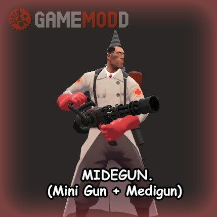 Midegun (Minigun + Medigun)