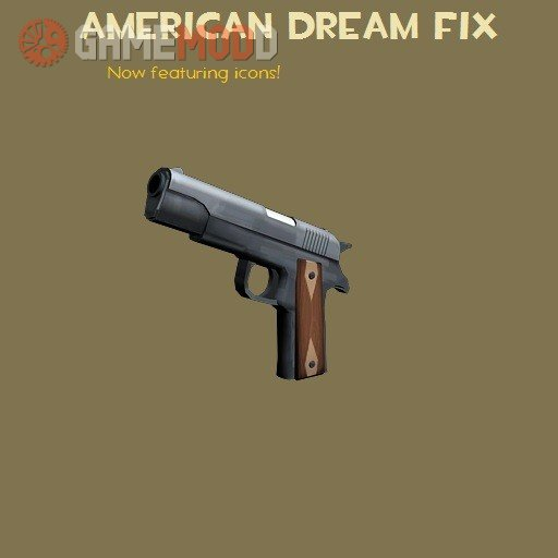 The American Dream: Fixed at last.