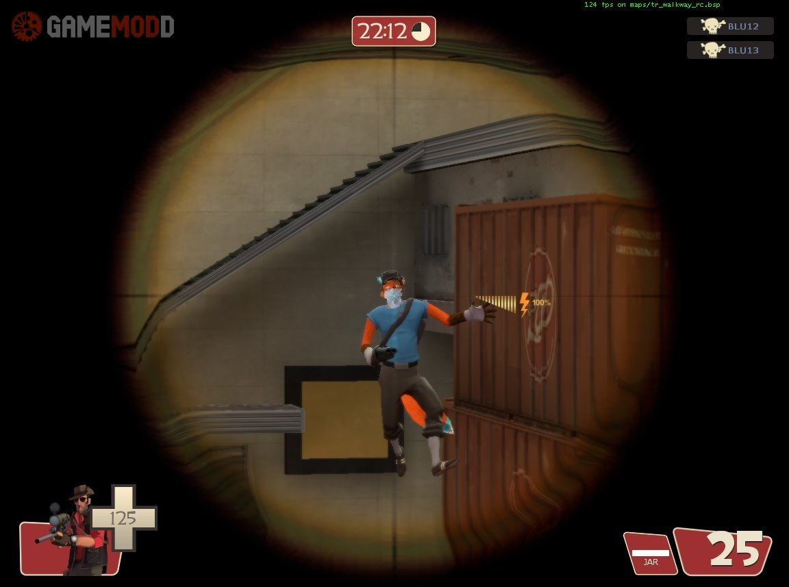 Fox Scout » TF2 - Skins Scout | GAMEMODD