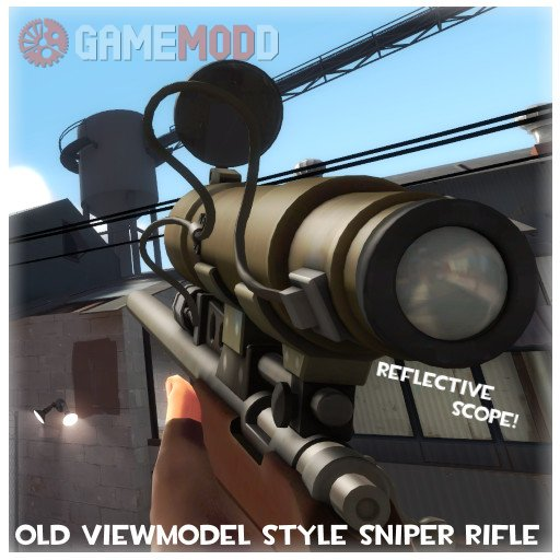 Old Viewmodel Style Sniper Rifle