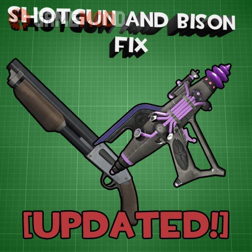 Shotgun and Bison Animations Fix