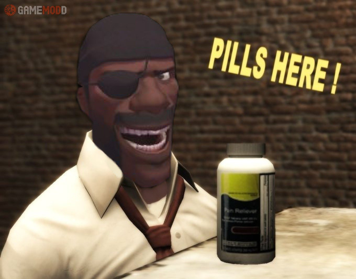 Left 4 Dead Pills&Medkit » TF2 - Skins Health and Ammo