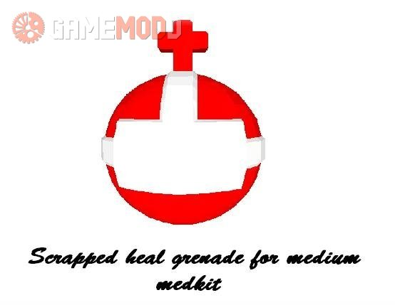 Scrapped Heal grenade for medkit