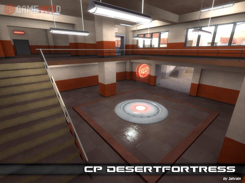 Cp_desertfortress » Control Point
