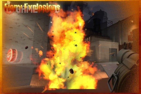 Fiery Explosions