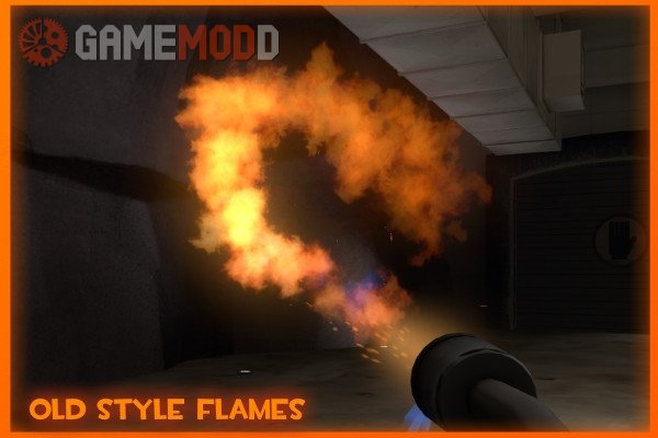 Old Style Flamethrower Flames