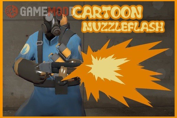 Cartoon/Comic Muzzleflashes