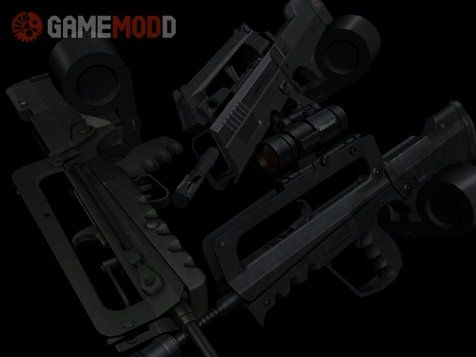 Heavy Famas Pack