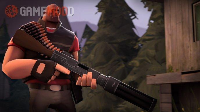 Concept-Styled Minigun