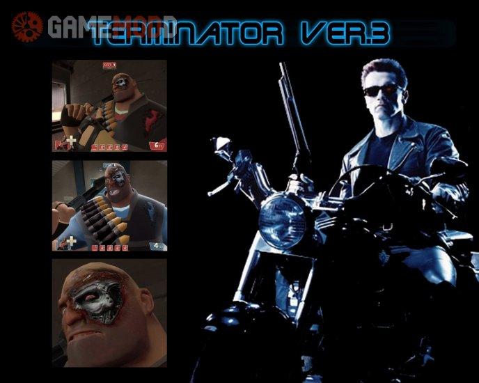 Terminator style skin Ver.3