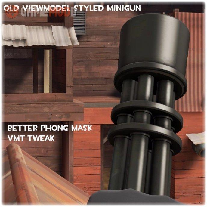 Old Viewmodel Style Minigun