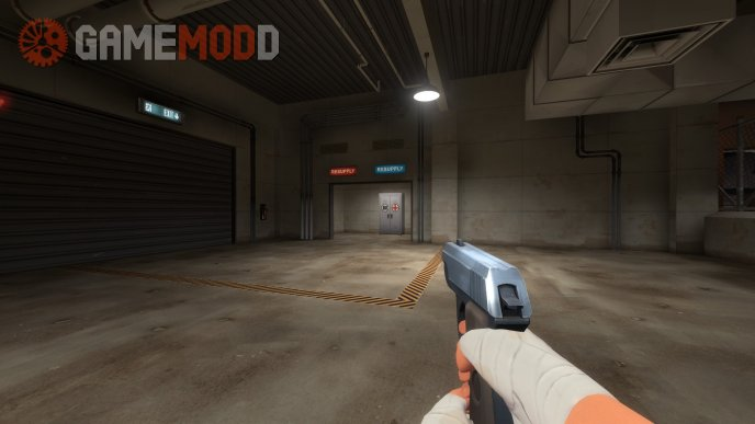 2007 TF2 original scout pistol anims