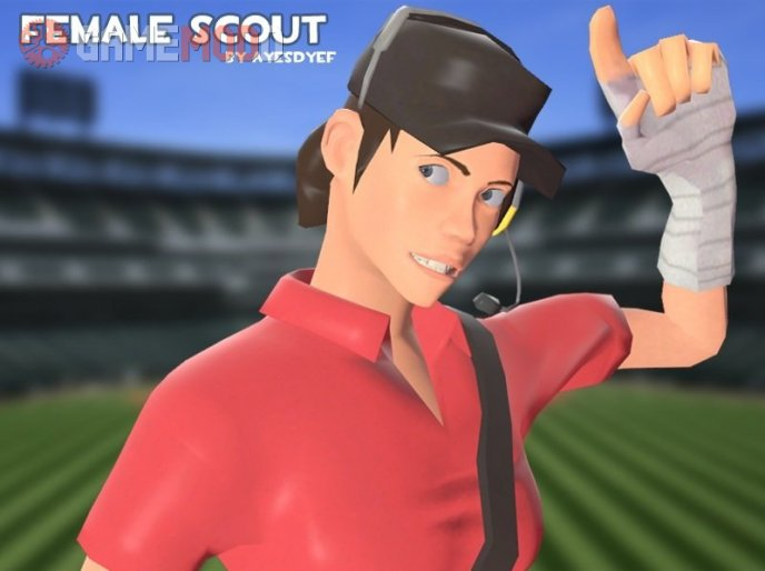 AyesDyef's Female Scout
